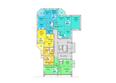 Жилой комплекс АТЛАНТЫ ж/к: Блок-секция 1. Планировка 10-16 этажей