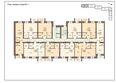 Жилой комплекс РОДНЫЕ ПЕНАТЫ ж/к: Блок-секция 1. Планировка типового этажа