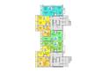 Жилой комплекс АТЛАНТЫ ж/к: Блок-секция 2. Планировка 1 этажа