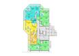 Жилой комплекс АТЛАНТЫ ж/к: Блок-секция 1. Планировка 1 этажа