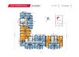 Жилой комплекс НА КИРОВА, ж/к, 2 дом: Планировка 10-16 этажей