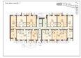 Жилой комплекс РОДНЫЕ ПЕНАТЫ ж/к: Блок-секция 1. Планировка первого этажа