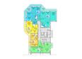 Жилой комплекс АТЛАНТЫ ж/к: Блок-секция 1. Планировка 2-9 этажей