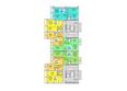 Жилой комплекс АТЛАНТЫ ж/к: Блок-секция 2. Планировка 2 этажа
