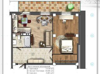 Дизайн-проект квартиры в подарок
